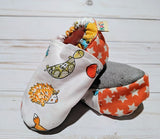 Lexi's Woodland Creatures Soft Sole Baby Shoes