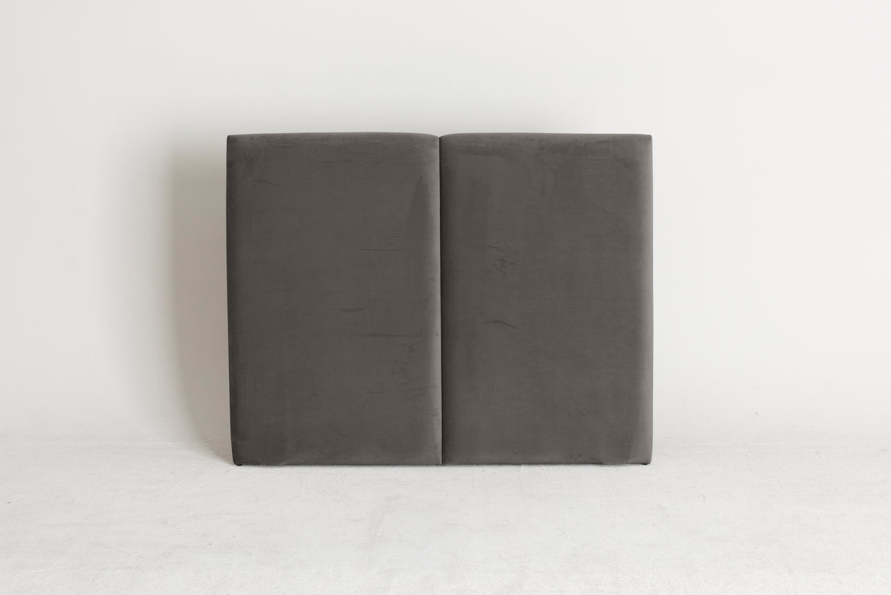Plush Slate Velvet Sample