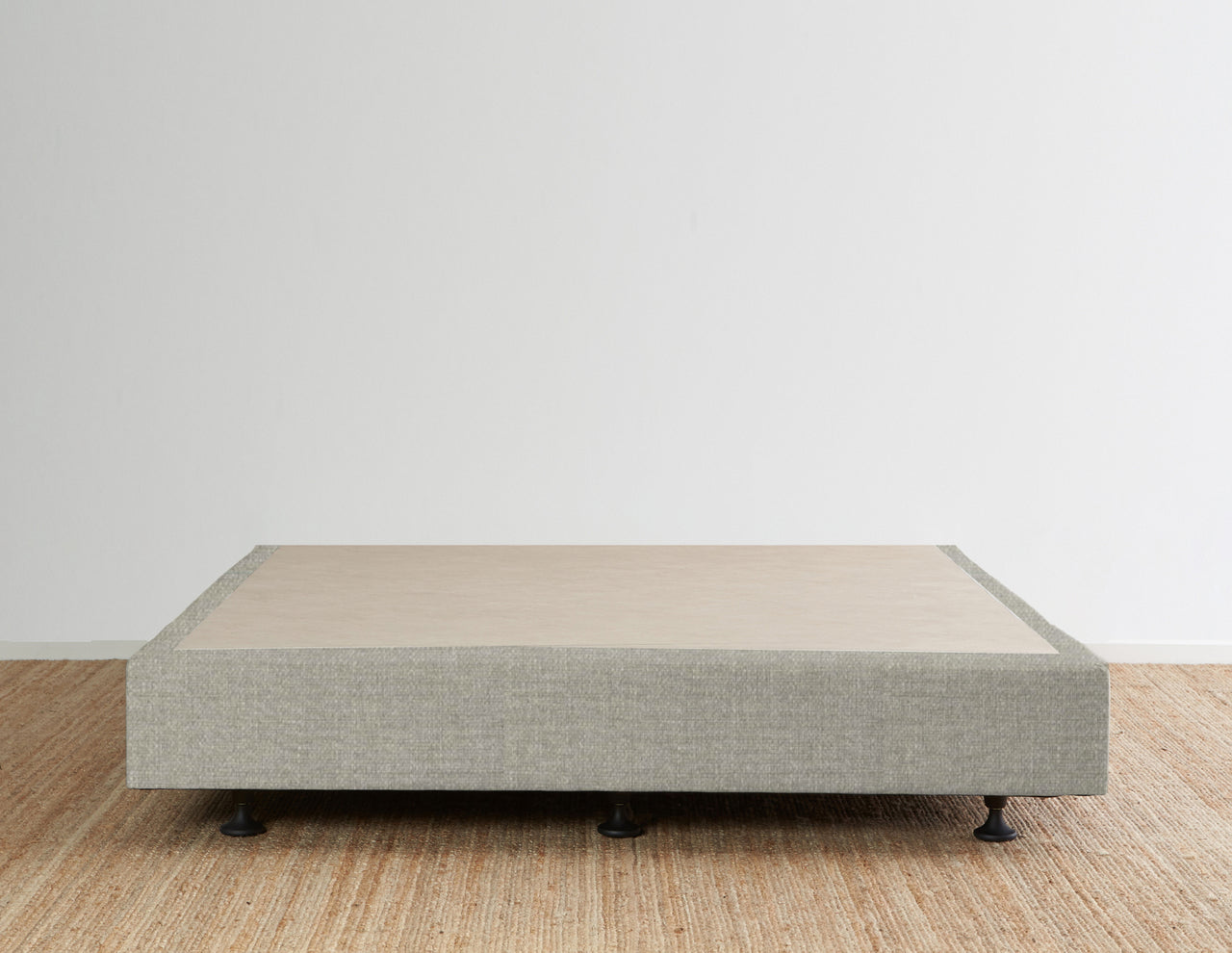 Luca's Bed Base - Pewter