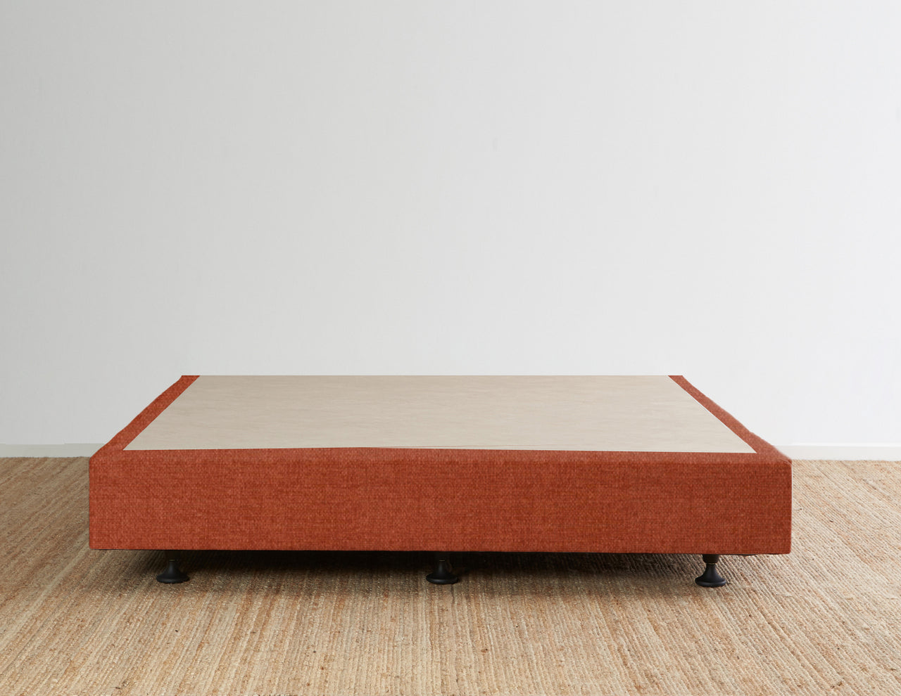 Luca's Bed Base - Terracotta