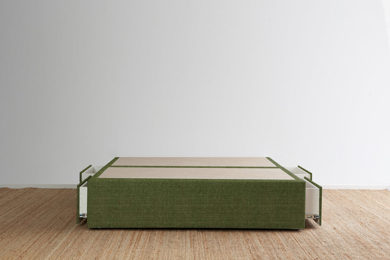 Maxwell's 4 Drawer Bed Base - Cactus