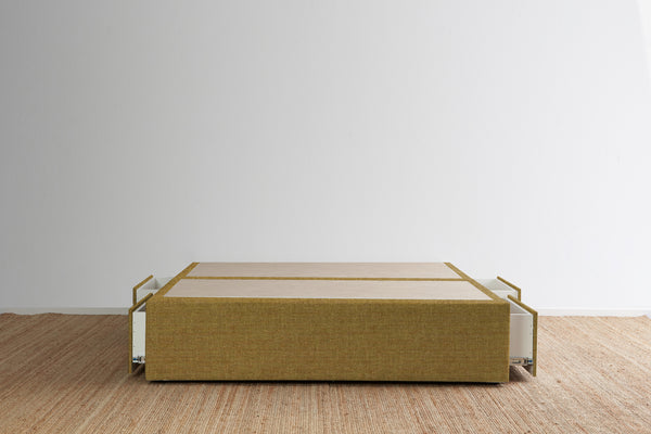 Maxwell's 4 Drawer Bed Base - Dijon