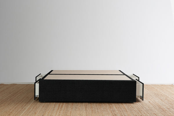 Maxwell's 4 Drawer Bed Base - Ebony