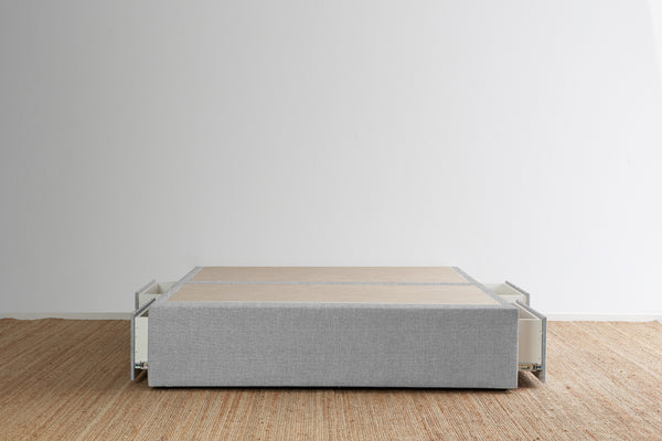 Maxwell's 4 Drawer Bed Base - Glacier
