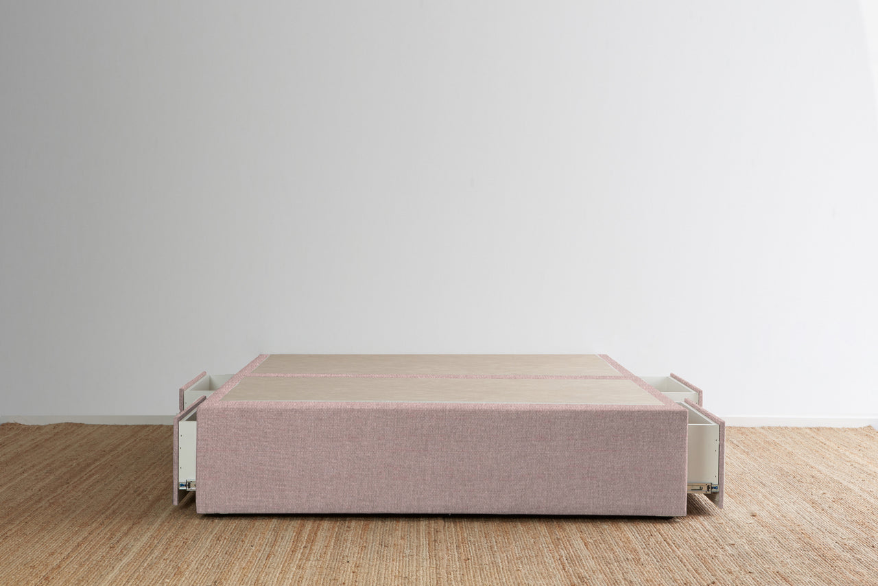 Maxwell's 4 Drawer Bed Base - Lilac