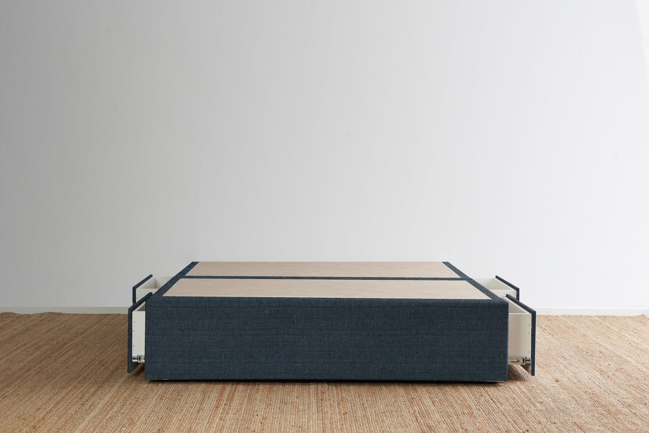 Maxwell's 4 Drawer Bed Base - Navy