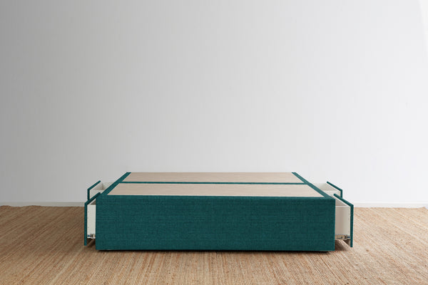 Maxwell's 4 Drawer Bed Base - Teal