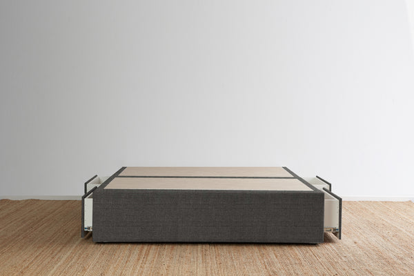 Maxwell's 4 Drawer Bed Base - Steel