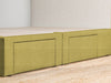 Maxwell's 4 Drawer Bed Base - Lemongrass