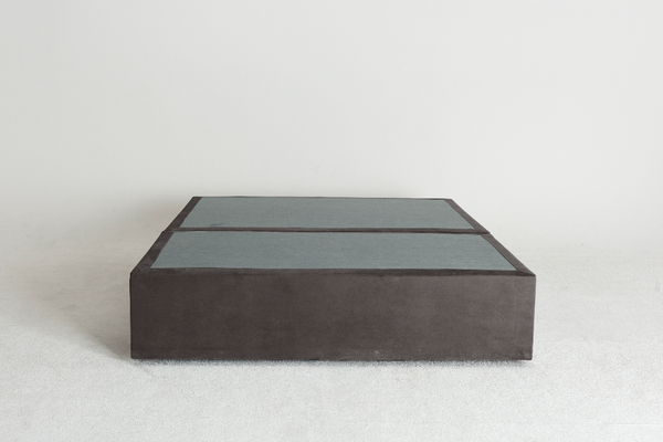 Velvet Maxwell's 4 Drawer Bed Base - Charcoal