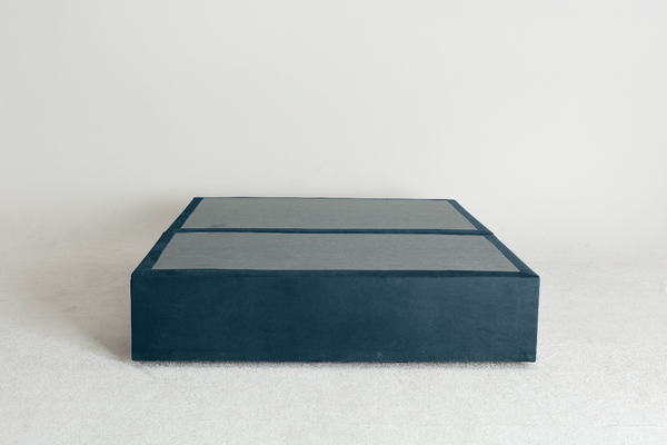 Velvet Maxwell's 4 Drawer Bed Base - Denim