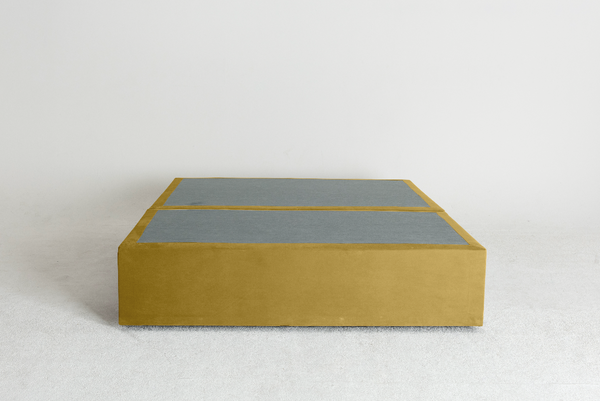 Velvet Maxwell's 4 Drawer Bed Base - Olive