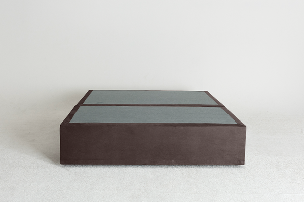Velvet Maxwell's 4 Drawer Bed Base -Mole