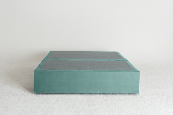 Velvet Maxwell's 4 Drawer Bed Base -Sky