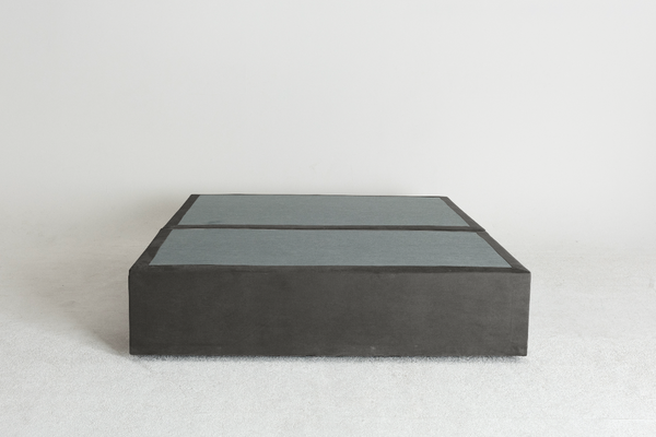 Velvet Maxwell's 4 Drawer Bed Base -Slate