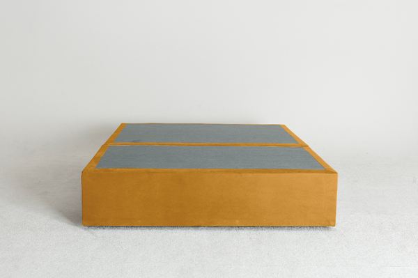 Velvet Maxwell's 4 Drawer Bed Base - Turmeric