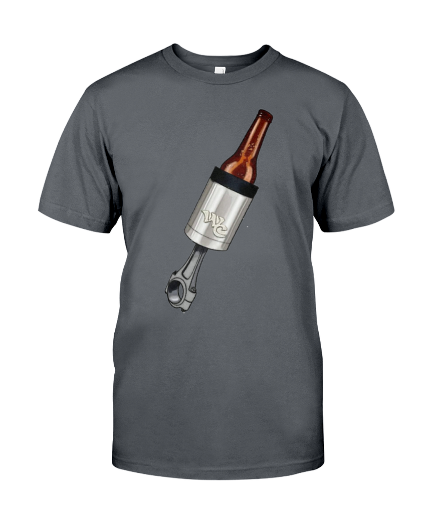 WICKED COLD PISTON KOOZIE T-SHIRT