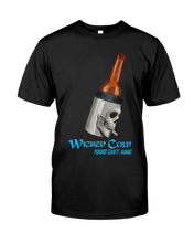 Wicked Cold SKULL Koozie T-Shirt