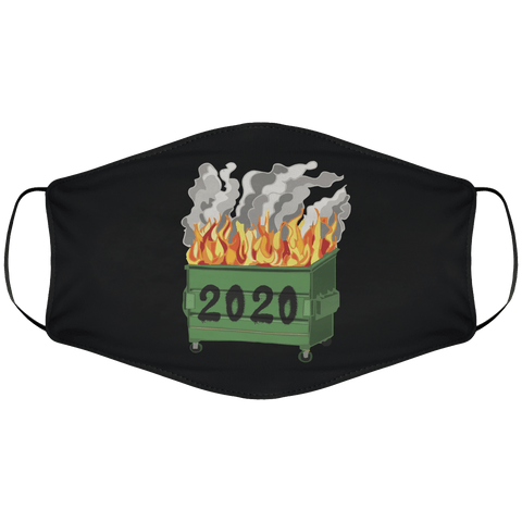 2020 Dumpster Fire - Face Mask