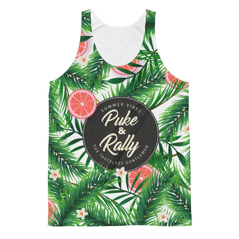 Puke & Rally All Over Summer Print Tank Top