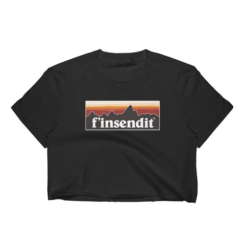 F'in Send It! - Women's Crop Top