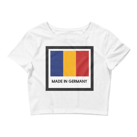 Made In Germany - Chad Flag - Women's Crop Tee