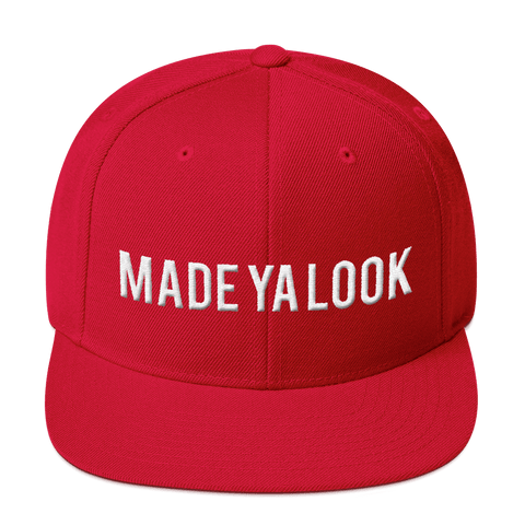 Made Ya Look - Maga Troll - Snapback