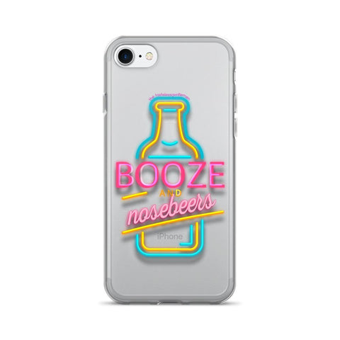 Booze & Nosebeers iPhone 7/7 Plus Case