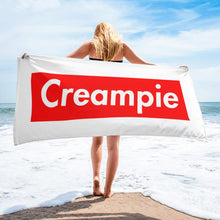 Creampie Beach Towel