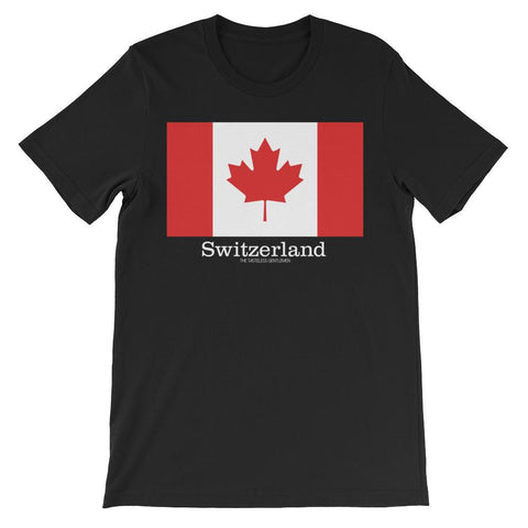 Switzerland - Canada T-shirt