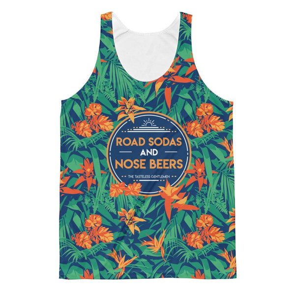 Road Sodas and Nose Beers All Over Print Tank Top