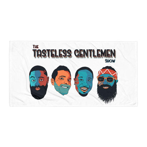 The Tasteless Gentlemen Show Beach Blanket
