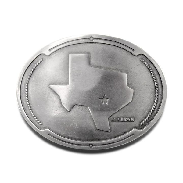 Texas Beer Belt Buckle - Bottle Holder