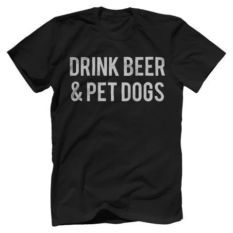 Drink Beer & Pet Dogs