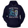Space Force: Alien Punch (parody) - Sweatshirts