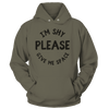 I'm Shy, Please, Give Me Space - Hoodie