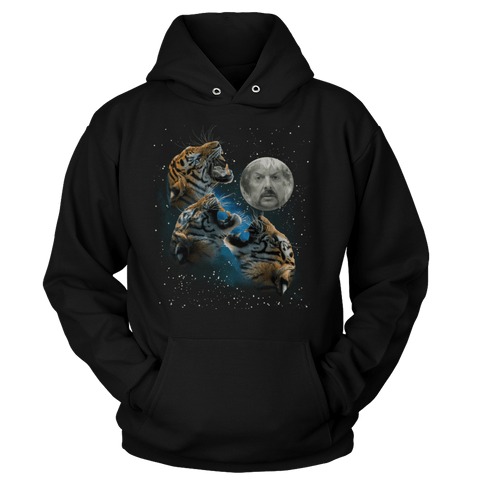 Joe Exotic Three Tiger Moon - Sweatshirts
