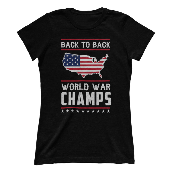 Back-To-Back World War Champs! (Ladies)