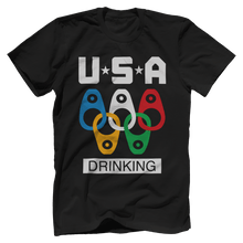 USA Olympic Beer Drinking Team