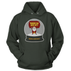 Where Da Hos At? Snow Globe Santa - Sweatshirts