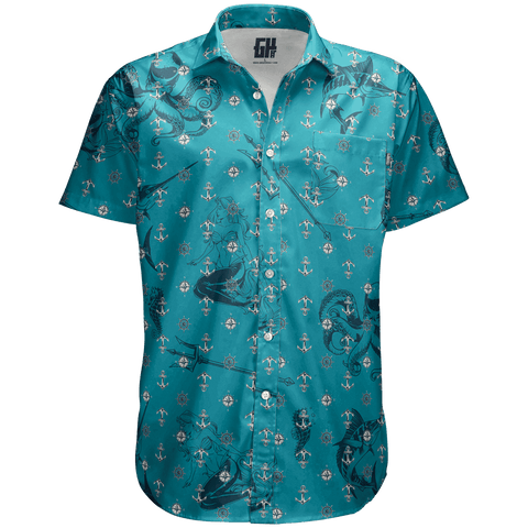 Poseidon - Button Down