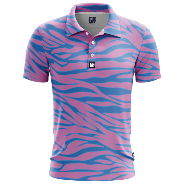 Trippin Zebra - Golf Polo
