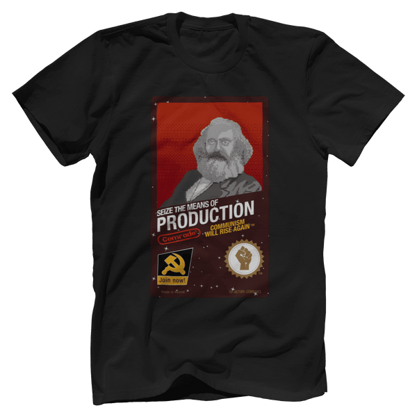 Seize The Means Of Production - Karl Marx