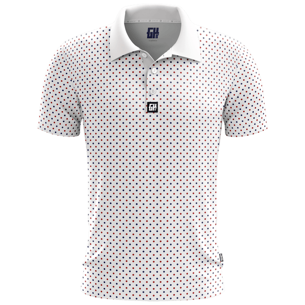 Connect The Dots - Golf Polo