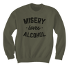 Misery Loves Alcohol - Sweatshirts