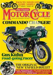 TCM201903 The Classic Motorcycle March 2019 - Latest Issue