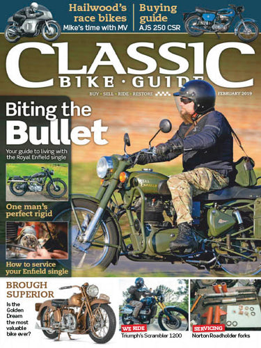CBG201902 Classic Bike Guide February 2019 - latest issue