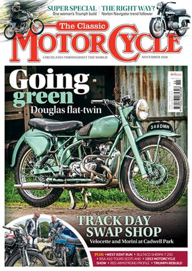 TCM201811 The Classic Motorcycle November 2018 - Latest Issue