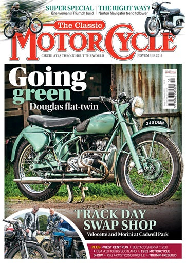 TCM201811 The Classic Motorcycle November 2018