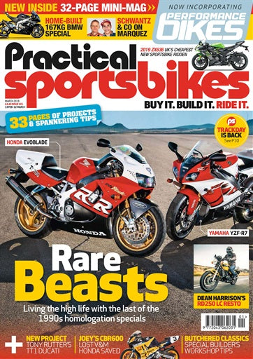 PS201903 Practical Sportsbikes (and Performance Bikes) March 2019 - latest issue